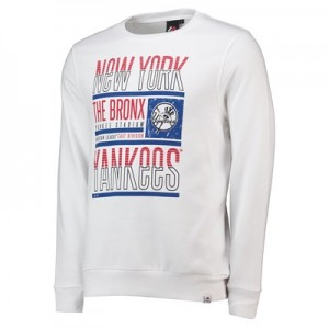 New York Yankees Graphic Sweatshirt - White - Mens