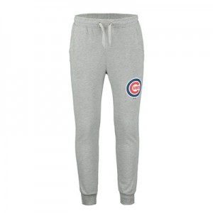 Chicago Cubs Joggers - Silver Marl - Mens