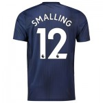 Manchester United Third Shirt 2018-19 with Smalling 12 printing