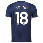Manchester United Third Shirt 2018-19 with Young 18 printing