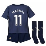 Manchester United Third Mini Kit 2018-19 with Martial 11 printing