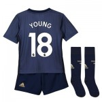Manchester United Third Mini Kit 2018-19 with Young 18 printing