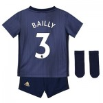 Manchester United Third Baby Kit 2018-19 with Bailly 3 printing