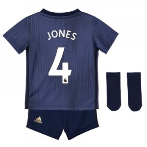 Manchester United Third Baby Kit 2018-19 with Jones 4 printing