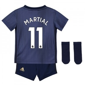 Manchester United Third Baby Kit 2018-19 with Martial 11 printing
