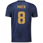 Manchester United Third Cup Shirt 2018-19 with Mata 8 printing