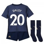 Manchester United Third Mini Kit 2018-19 with Dalot 20 printing