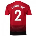 Manchester United Home Shirt 2018-19 with Lindelof 2 printing