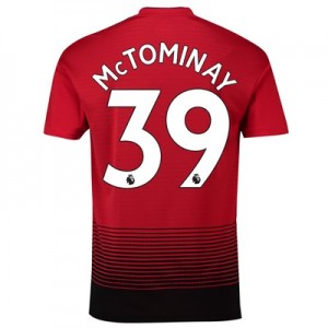 Manchester United Home Shirt 2018-19 with McTominay 39 printing