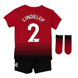 Manchester United Home Baby Kit 2018-19 with Lindelof 2 printing