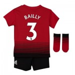 Manchester United Home Baby Kit 2018-19 with Bailly 3 printing