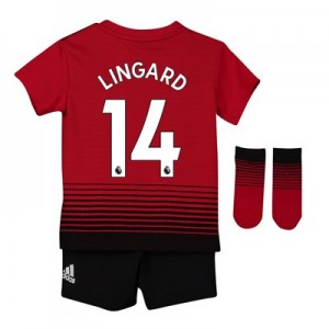 Manchester United Home Baby Kit 2018-19 with Lingard 14 printing