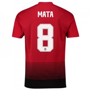 Manchester United Home Cup Shirt 2018-19 with Mata 8 printing