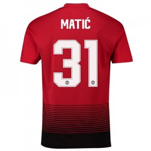 Manchester United Home Cup Shirt 2018-19 with Matic 31 printing