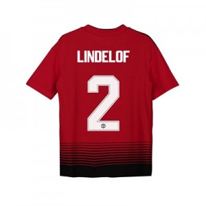Manchester United Home Cup Shirt 2018-19 - Kids with Lindelof 2 printing