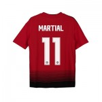 Manchester United Home Cup Shirt 2018-19 - Kids with Martial 11 printing