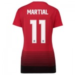 Manchester United Home Cup Shirt 2018-19 - Womens with Martial 11 printing