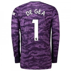 Manchester United Home Goalkeeper Shirt 2019 - 20 with De Gea 1 printing
