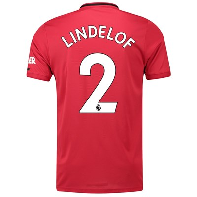 Manchester United Home Shirt 2019 - 20 with Lindelof 2 printing