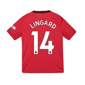 Manchester United Home Shirt 2019 - 20 - Kids with Lingard 14 printing