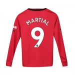Manchester United Home Shirt 2019 - 20 - Kids - Long Sleeve with Martial 9 printing