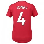 Manchester United Home Shirt 2019 - 20 - Womens with Jones 4 printing