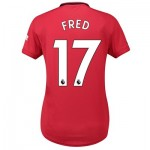 Manchester United Home Shirt 2019 - 20 - Womens with Fred 17 printing