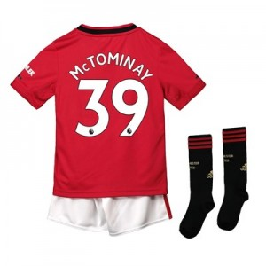 Manchester United Home Mini Kit 2019 - 20 with McTominay 39 printing