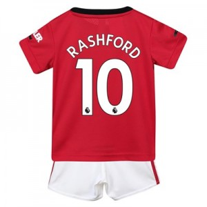 Manchester United Home Baby Kit 2019 - 20 with Rashford 10 printing