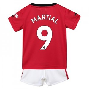 Manchester United Home Baby Kit 2019 - 20 with Martial 9 printing
