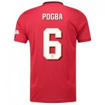 Manchester United Cup Home Shirt 2019 - 20 with Pogba 6 printing