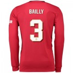 Manchester United Cup Home Shirt 2019 - 20 - Long Sleeve with Bailly 3 printing