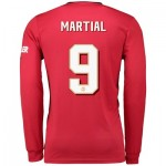 Manchester United Cup Home Shirt 2019 - 20 - Long Sleeve with Martial 9 printing