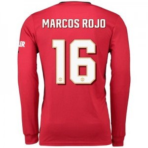 Manchester United Cup Home Shirt 2019 - 20 - Long Sleeve with Marcos Rojo 16 printing
