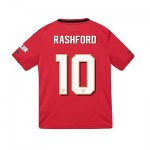 Manchester United Cup Home Shirt 2019 - 20 - Kids with Rashford 10 printing