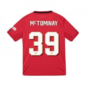 Manchester United Cup Home Shirt 2019 - 20 - Kids with McTominay 39 printing
