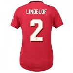 Manchester United Cup Home Shirt 2019 - 20 - Womens with Lindelof 2 printing
