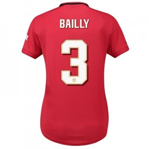 Manchester United Cup Home Shirt 2019 - 20 - Womens with Bailly 3 printing
