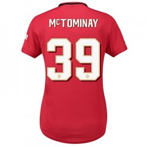 Manchester United Cup Home Shirt 2019 - 20 - Womens with McTominay 39 printing