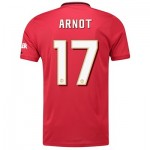Manchester United Cup Home Shirt 2019 - 20 with Arnot 17 printing