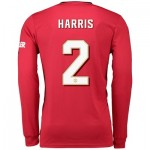 Manchester United Cup Home Shirt 2019 - 20 - Long Sleeve with Harris 2 printing