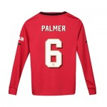 Manchester United Cup Home Shirt 2019 - 20 - Kids - Long Sleeve with Palmer 6 printing