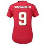 Manchester United Home Cup Shirt 2019 - 20 - Womens with Sigsworth 9 printing