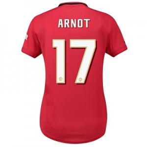 Manchester United Home Cup Shirt 2019 - 20 - Womens with Arnot 17 printing