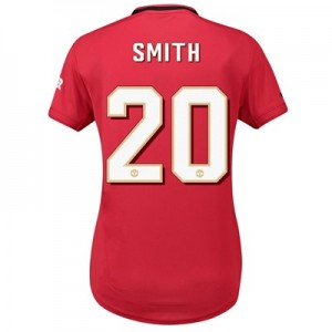 Manchester United Home Cup Shirt 2019 - 20 - Womens with Smith 20 printing