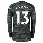 Manchester United Away Goalkeeper Shirt 2019 - 20 with Grant  13 printing