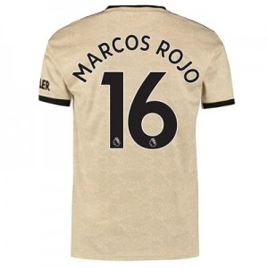 Manchester United Away Shirt 2019 - 20 with Marcos Rojo 16 printing