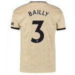 Manchester United Away Shirt 2019 - 20 with Bailly 3 printing