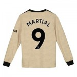 Manchester United Away Shirt 2019 - 20 - Kids - Long Sleeve with Martial 9 printing