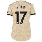 Manchester United Away Shirt 2019 - 20 - Womens with Fred 17 printing